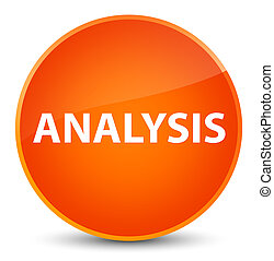 Analysis elegant orange round button