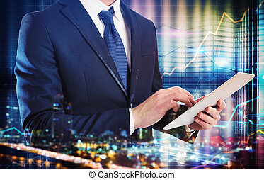 Analysis of business with technology