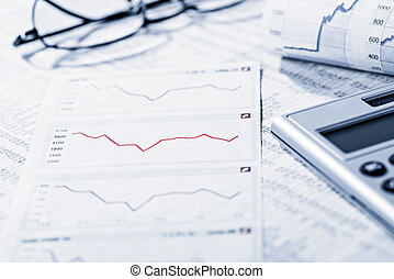 Analysis of the financial market - Rate tables and diagrams ...