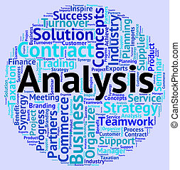Analysis Word Shows Data Analytics And Words