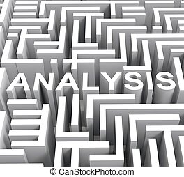Analysis Word Shows Investigation Or Research - Analysis...