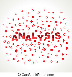 Analysis word with in alphabets