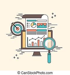 analytic, concepto, datos