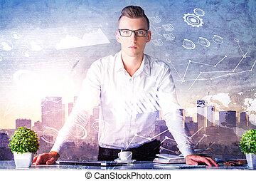 analytics, 概念, 金融
