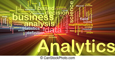 analytics, 白熱, 概念, 背景