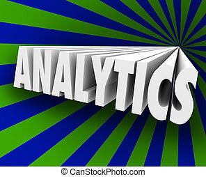 analytics, 3d, 単語, 測定, 顧客, ビジネス, metrics, 販売, respon