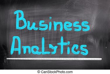 analytics, concept, business