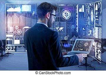 analytics, concept, innovation