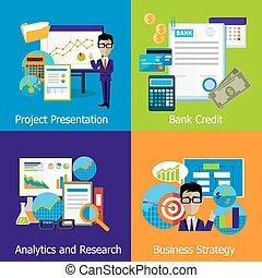 analytics, concepto, estrategia, empresa / negocio,...