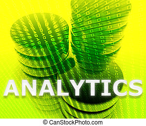 analytics, dane, ilustracja