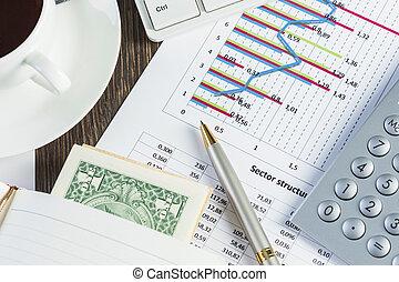 analytics, financier