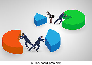 analytics, fogalom, pite, ügy, diagram