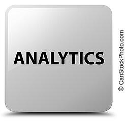 Analytics white square button