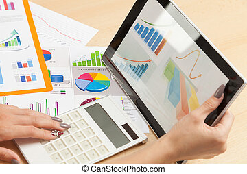 Analyze business data