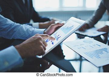 analyzing, elektronisch, document