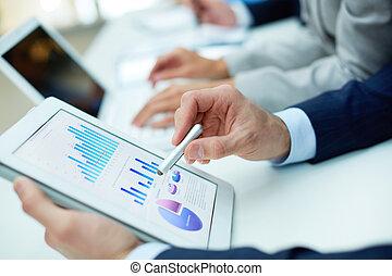 analyzing, resultaten