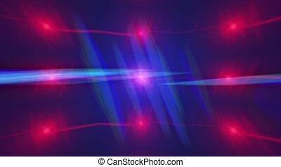 Anamorphic glare lens background. 4K video footage. -...