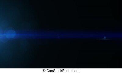 anamorphic lens flare lights background . - anamorphic lens...
