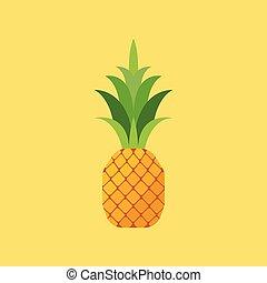 ananász, lakás, mód