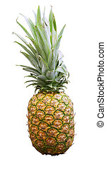 Ananas - An ananas over a white background