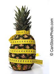 ananas, cintamétrica