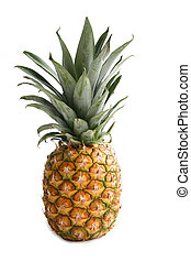 Ananas. Delicious Fruits, Still life composition over the ...