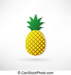 ananas, icône