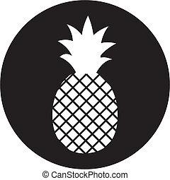 ananas, ikona