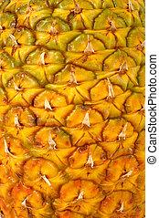 ananas, textuur