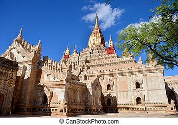 Ananda temple at Bagan, Myanmar