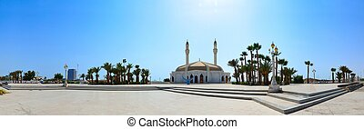 anani, panorama, meczet, jeddah