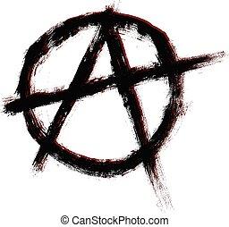 Anarchy symbol.