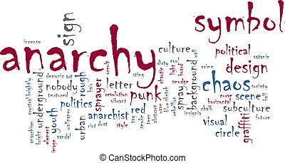 Anarchy word cloud