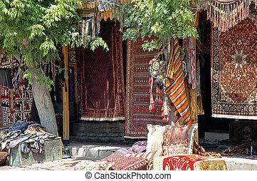 anatolia, antiguo, alfombras, turco