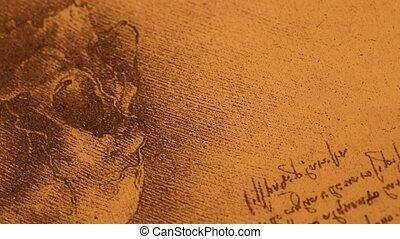 Anatomy?art - 14th century?anatomy?art by Leonardo Da Vinci...