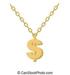 anca, chain., artists., oro, rap, metallo, musicians., dollaro, giallo, accessorio, decorazione, luppolo, prezioso