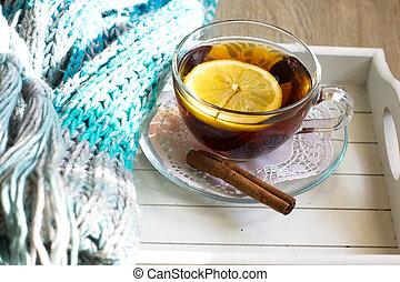 anca, tè, limone