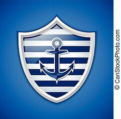 Anchor badge