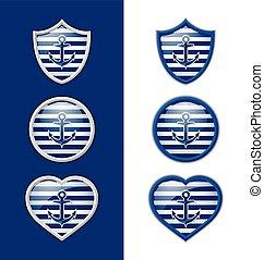 Anchor badges