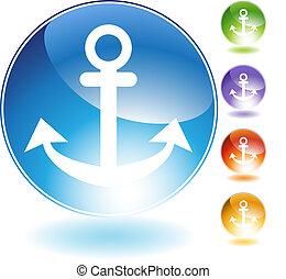 Anchor Crystal Icon