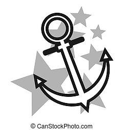 Anchor design - Creative design of anchor sign