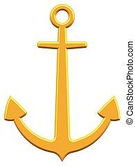 Anchor icon for various design