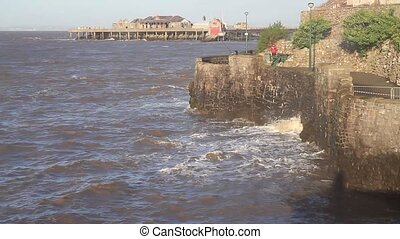 Anchor Head Old Pier Birnbeck UK