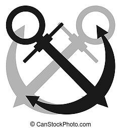 Anchor icon - Creative design of anchor icon