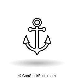 anchor icon design