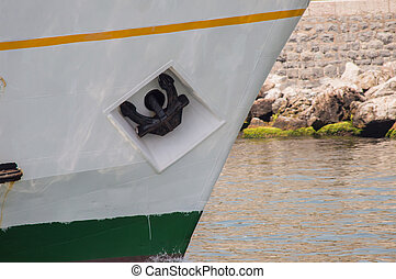 Anchor of a Sailing Boat