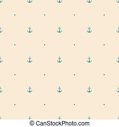 anchor seamless pattern background