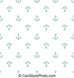 Anchor seamless pattern - Simple abstract seamless pattern....