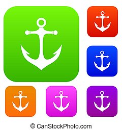 Anchor set color collection