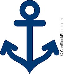 Anchor symbol icon